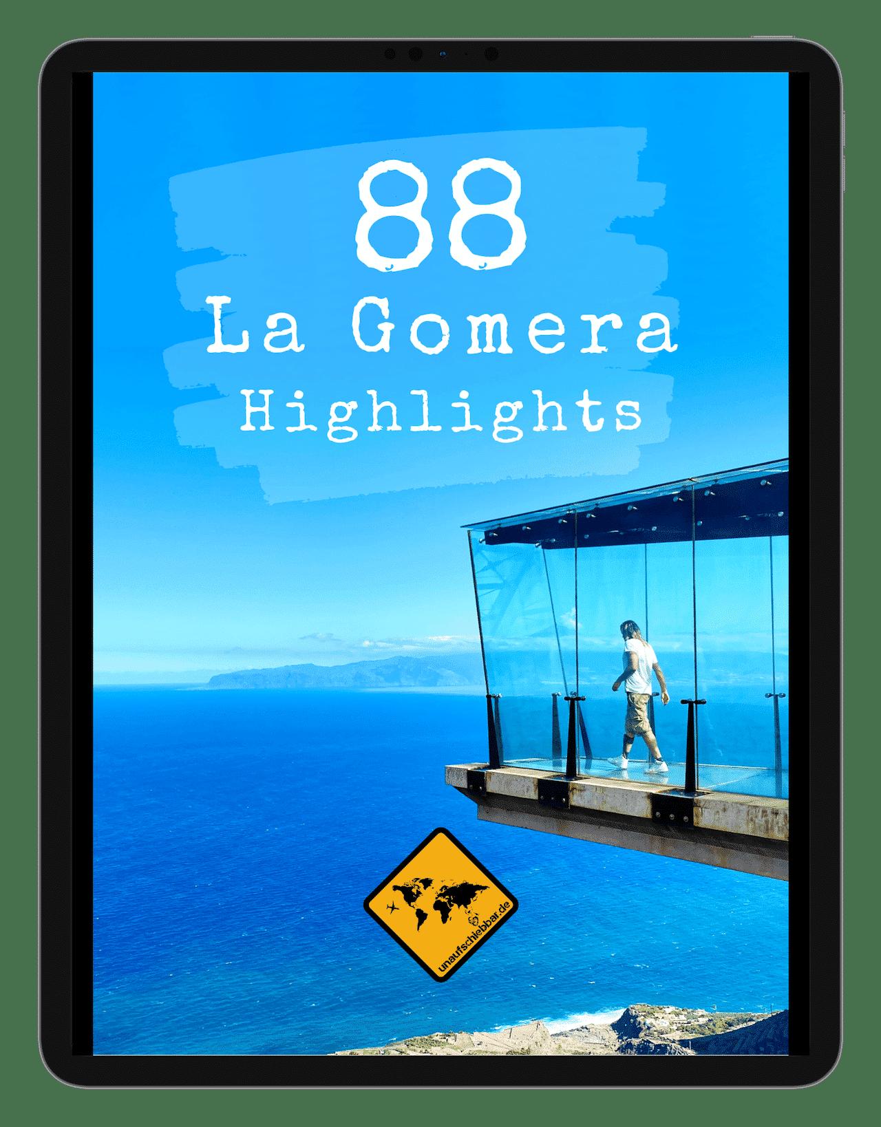 Cover - 88 La Gomera Highlights Sehenswürdigkeiten Ausflüge Aktivitäten Orte