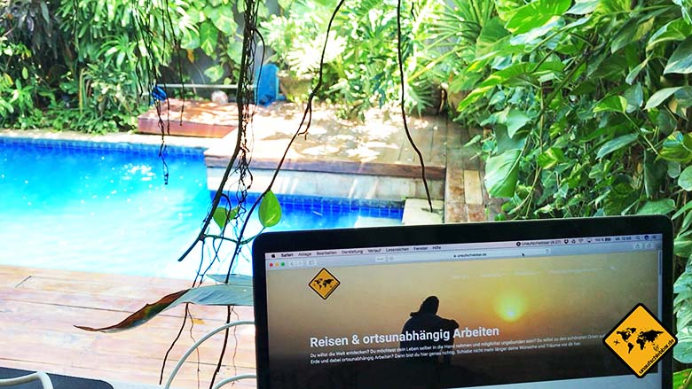 Coworking Space Bali Dojo Bali unaufschiebbar ortsunabhängig Arbeiten