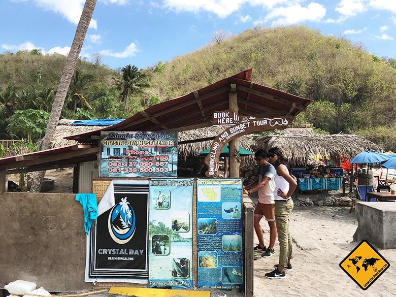 Crystal Bay Beach Nusa Penida Schnorchel-Ausflug