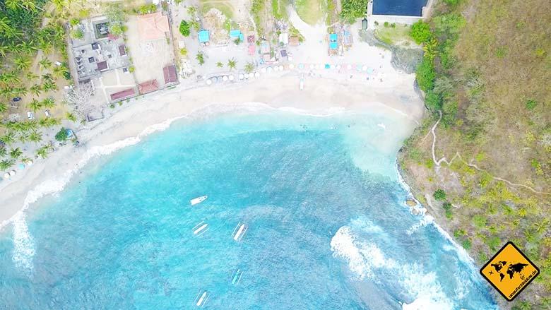 Crystal Bay Nusa Penida Zugang Pandan Beach