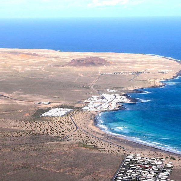 Mirador de El Risco de Famara Caleta de Famara Lanzarote