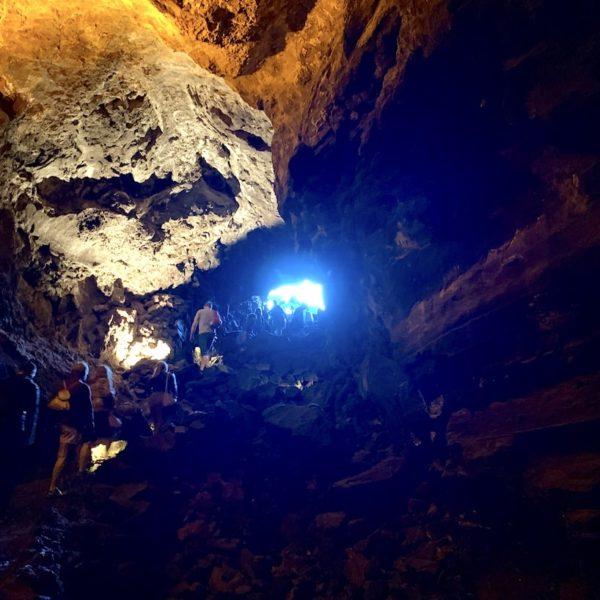 Cueva de los Verdes Ausgang