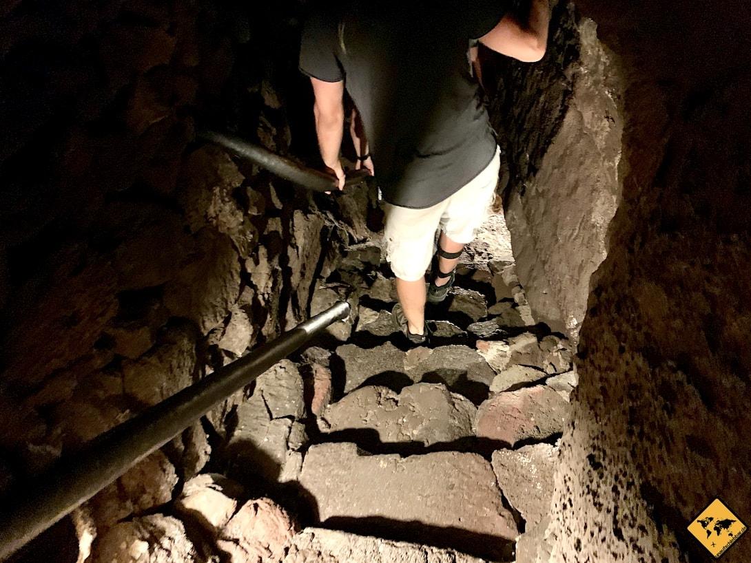 Cueva de los Verdes Lanzarote Höhle Tour