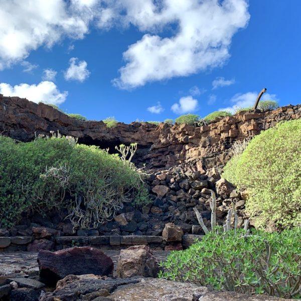 Cueva de los Verdes Lavahöhle Lanzarote