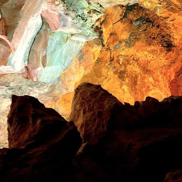 Cueva de los Verdes Lichtinstallation