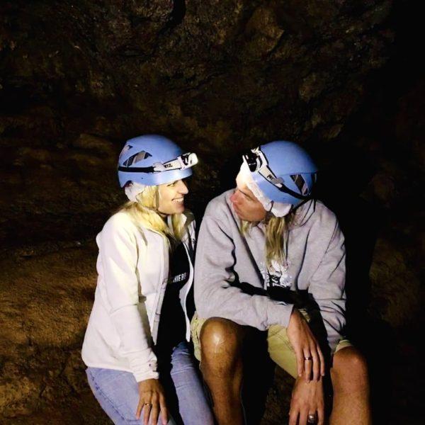 Cueva del Viento Helmpflicht