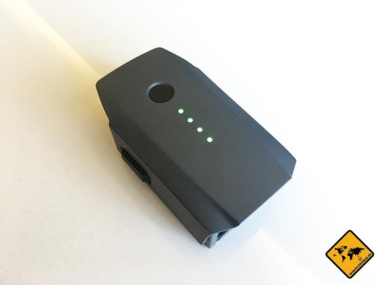 DJI Mavic Pro Akku Batterie aufgeladen