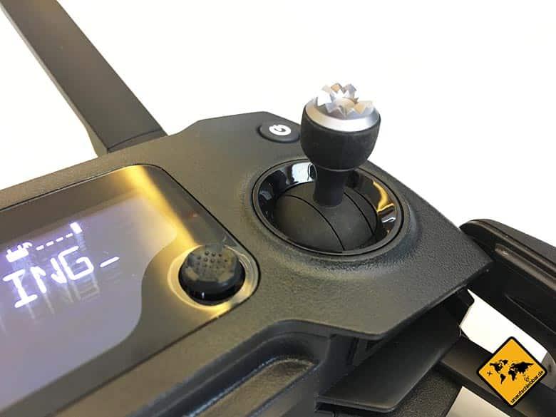 DJI Mavic Pro Test Reisedrohne Fernbedienung Controller Steuerung