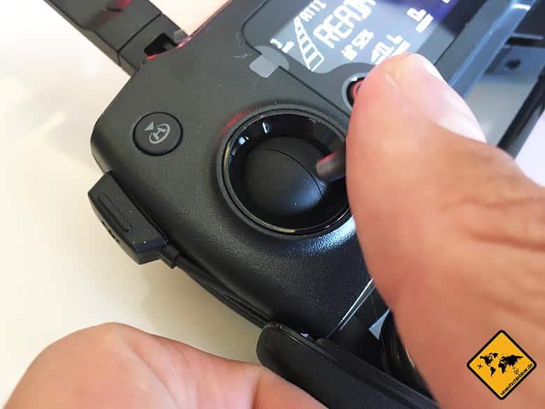 DJI Mavic Pro Test Reisedrohne Fernbedienung Steuerung