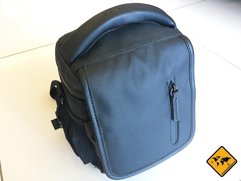 DJI Mavic Pro Test Reisedrohne Umhängetasche Tasche Bag