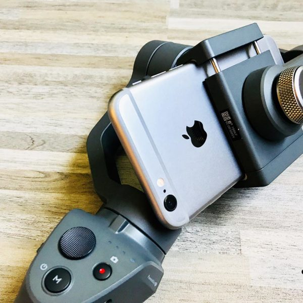 DJI Osmo Mobile 2 Apple iPhone 6s integriert