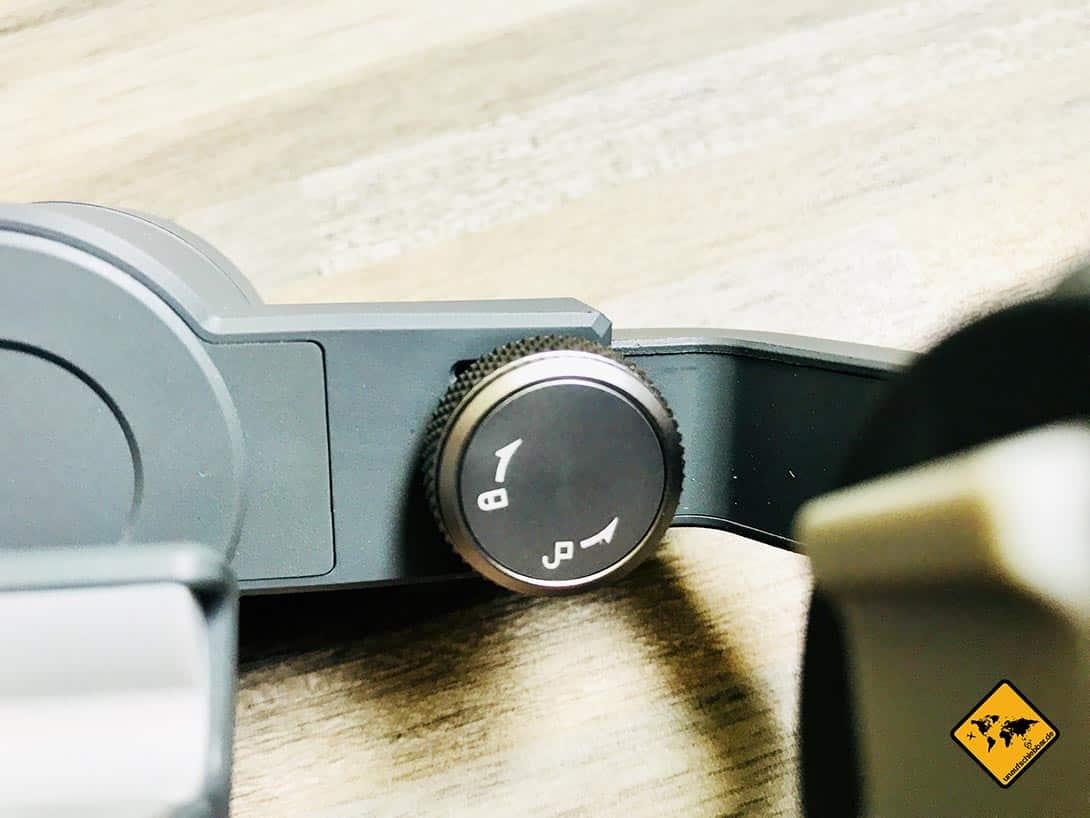DJI Osmo Mobile 2 Balance-Justierknauf Lock