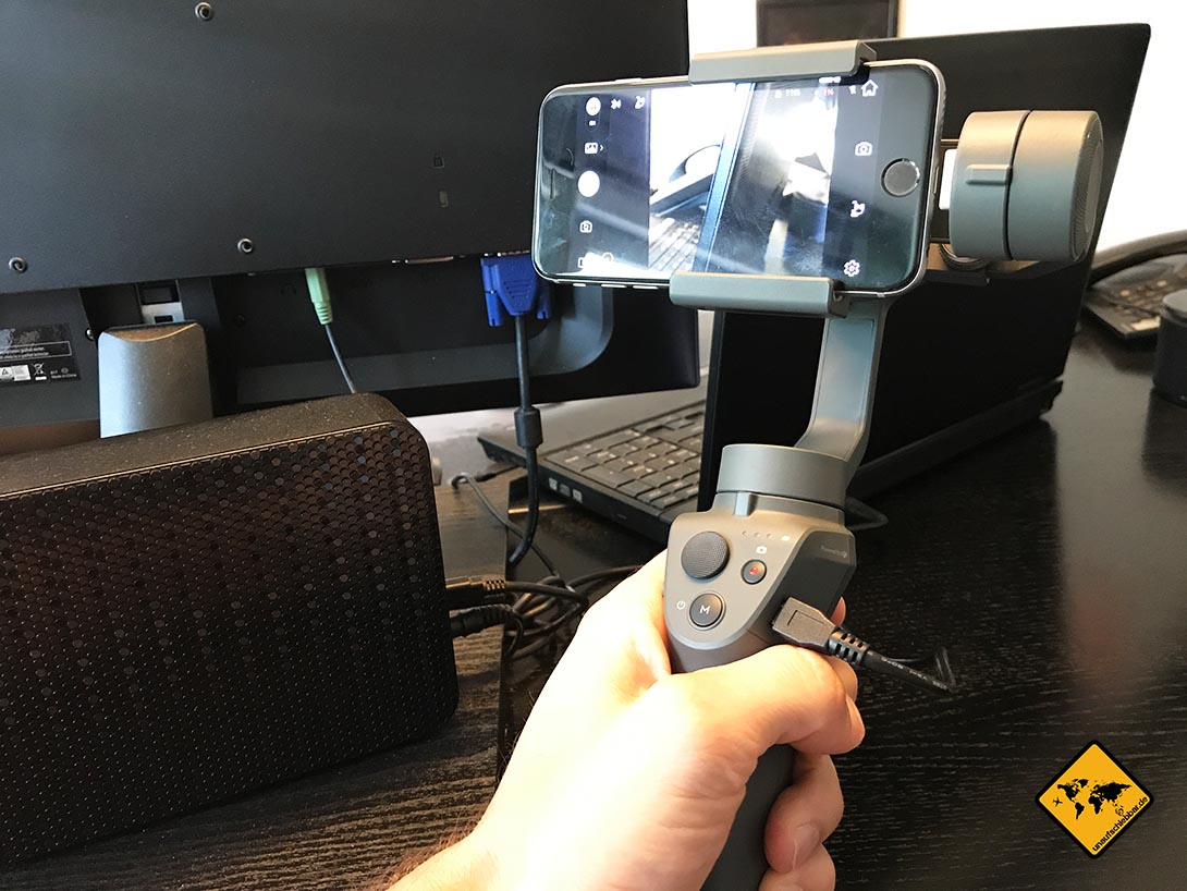 DJI Osmo Mobile 2 Gimbal für iPhone