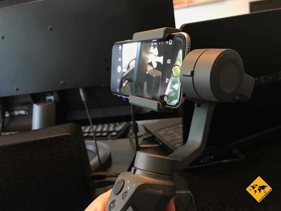DJI Osmo Mobile 2 Inbetriebnahme