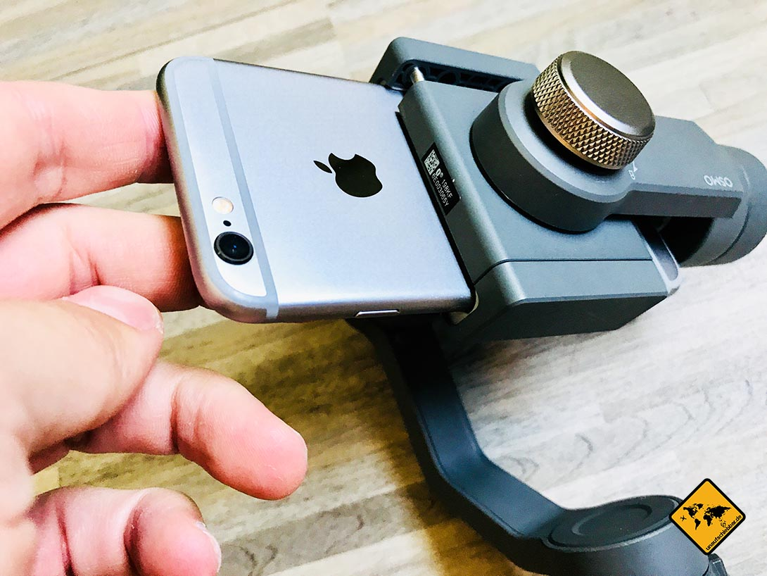 DJI Osmo Mobile 2 iPhone 6S