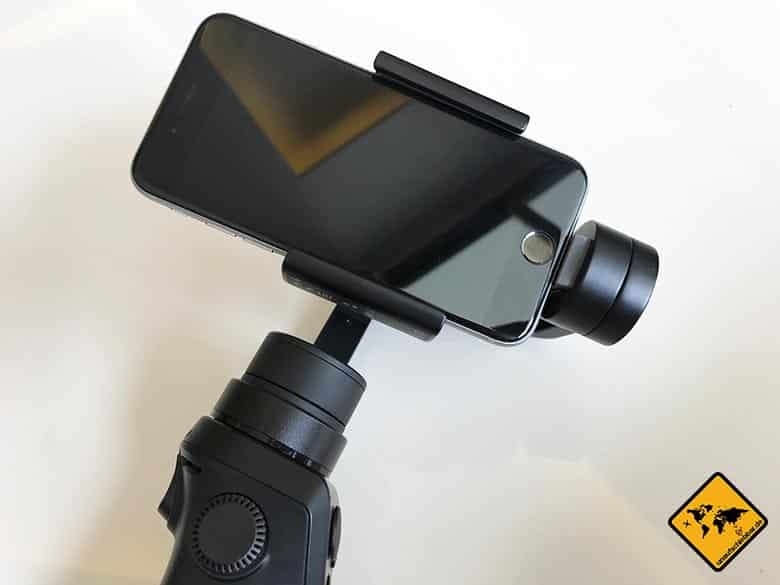 DJI Osmo Mobile Gimbal fuer iPhone 6