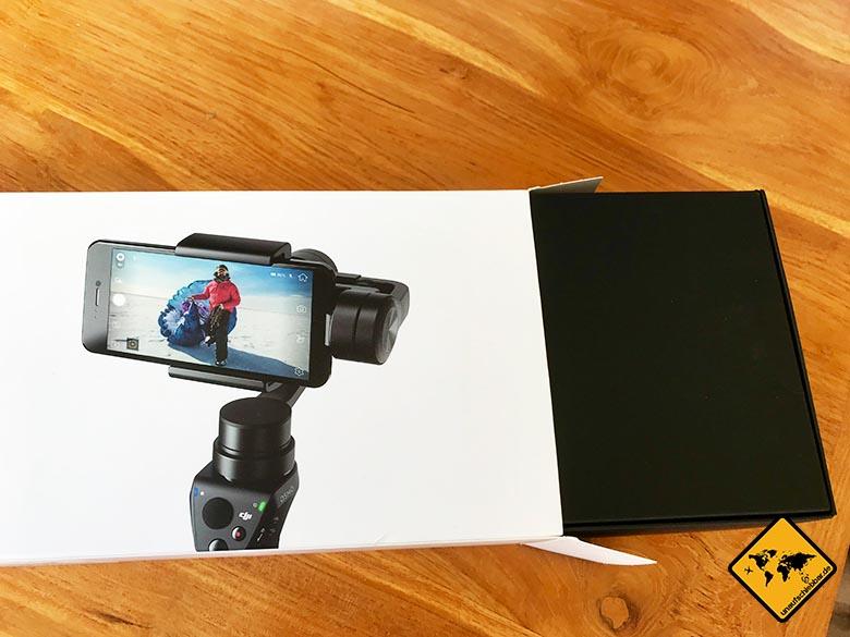 DJI Osmo Mobile Lieferung Karton