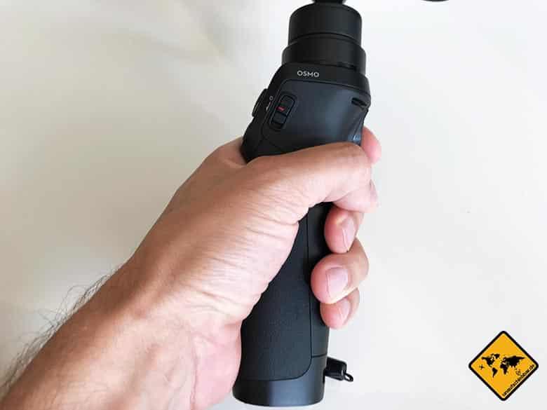 DJI Osmo Mobile Test Smartphone Gimbal Hand