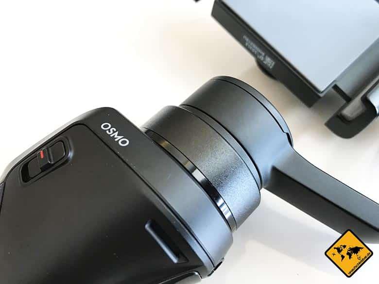 DJI Osmo Mobile Test Smartphone Gimbal Schwenkmotor