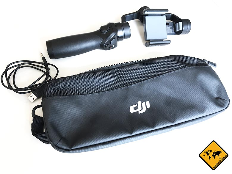 DJI Osmo Mobile Test Smartphone Gimbal alle Inhalte