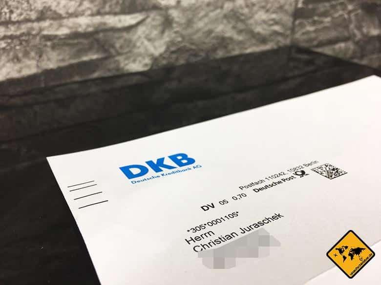 DKB Cash Erfahrung - Weltweit kostenlos Geld abheben - DKB Brief