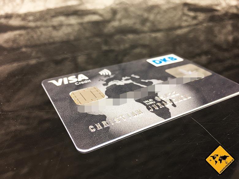 DKB Cash Erfahrung - Weltweit kostenlos Geld abheben - Visa Reise Kreditkarte