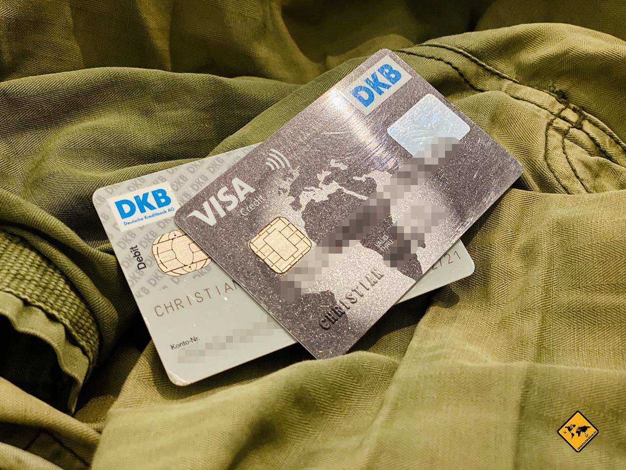 DKB Cash Girokonto Kreditkarte