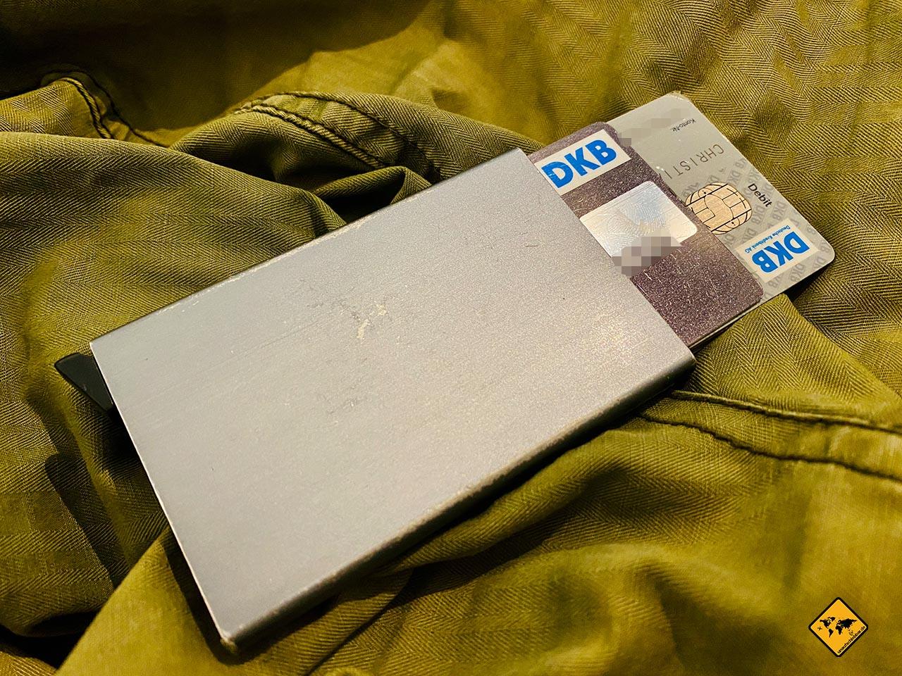 DKB Cash Secrid RFID Schutz Hacker
