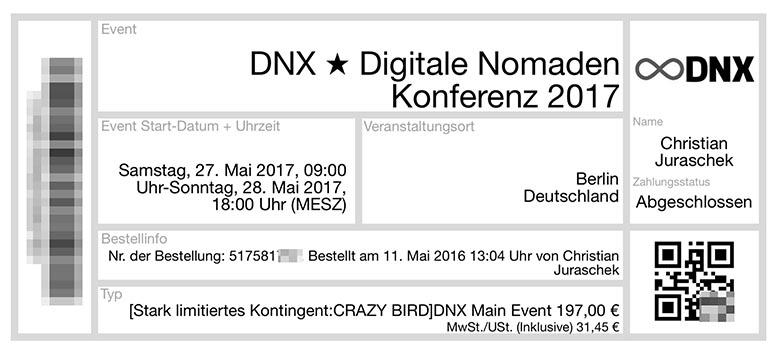 DNX Tickets