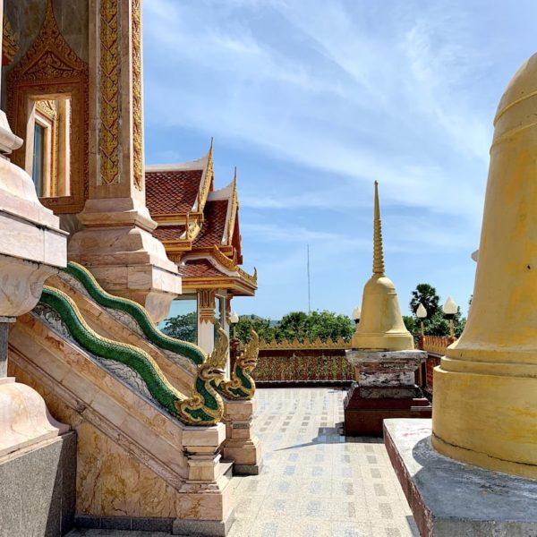 Dachterrasse Wat Chalong Phuket