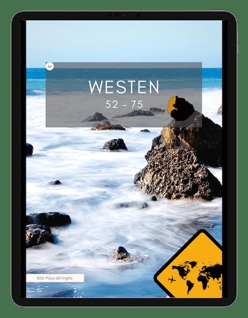 Deckblatt Westen Cover - 88 La Gomera Highlights Sehenswürdigkeiten Ausflüge Aktivitäten Orte