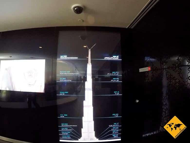 Der Burj Khalifa Eingangsbereich