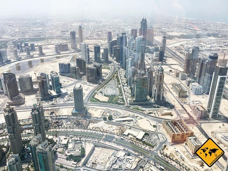 Der Burj Khalifa Eintritt ist aufgrund der tollen Aussicht sein Geld wert
