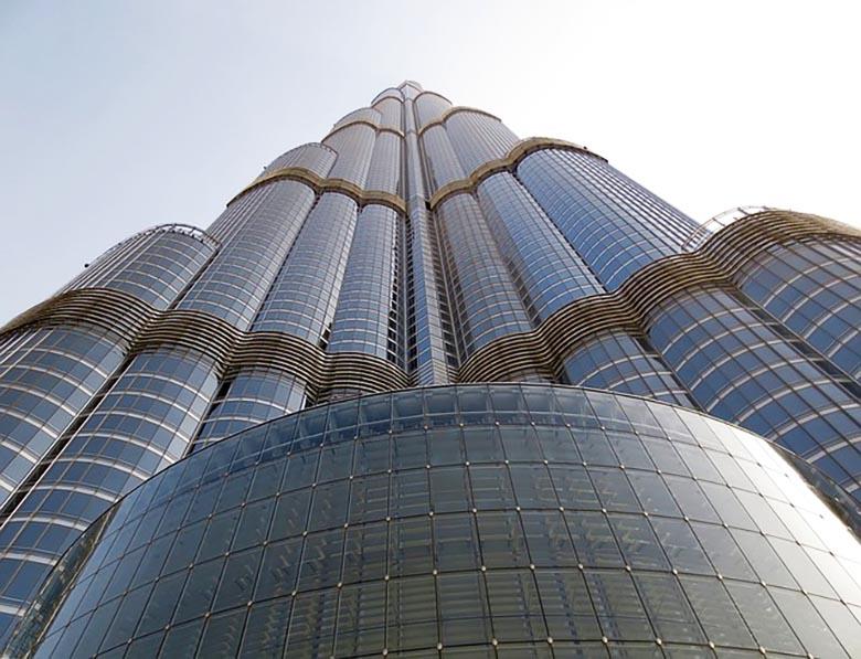 Der Burj Khalifa trägt viele verschiedene Namen