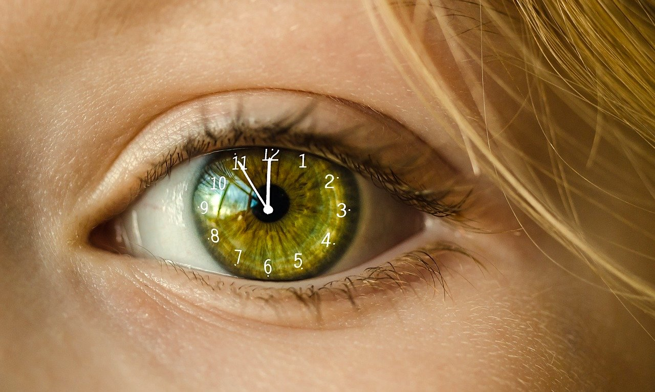 Die Uhr im Blick