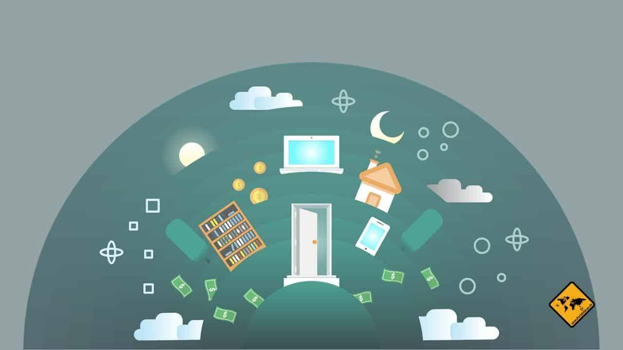Digital Nomaden Eigenschaften weniger Heimatverbunden