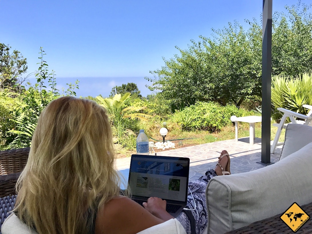 Digitale Nomaden Arbeiten auf Teneriffa