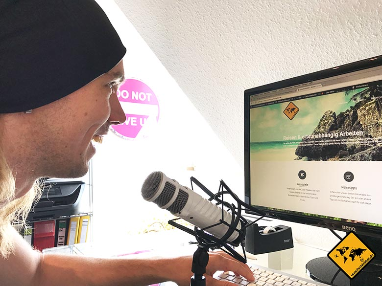 Digitale Nomaden Berufe Podcaster
