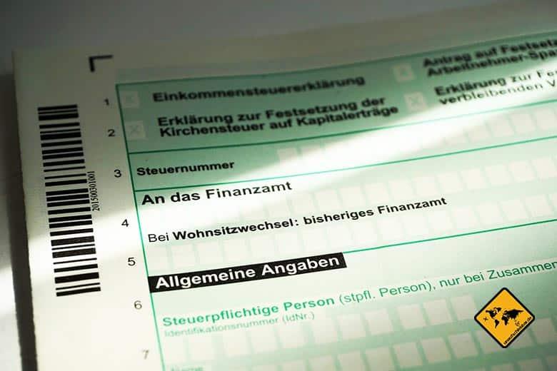 Digitale Nomaden Steuern Einkommenssteuerklärung