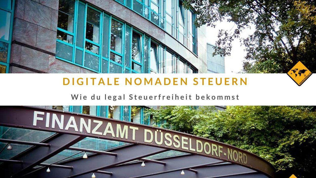 Digitale Nomaden Steuern Steuerfreiheit