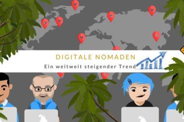 Digitale Nomaden: ein steigender Trend