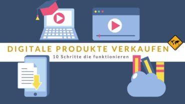 Digitale Produkte verkaufen: 10 Schritte, die funktionieren 🥇