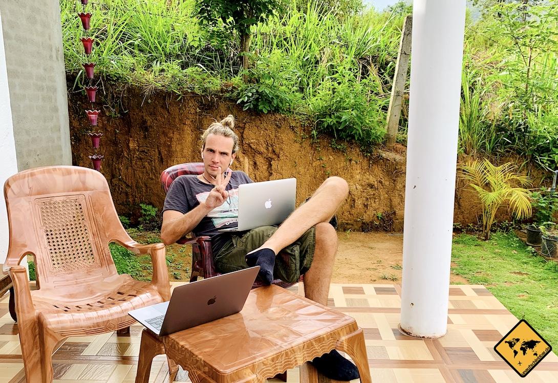 Digitaler Nomade Ella Sri Lanka