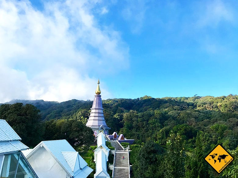 Doi Inthanon Nationalpark Pagoden