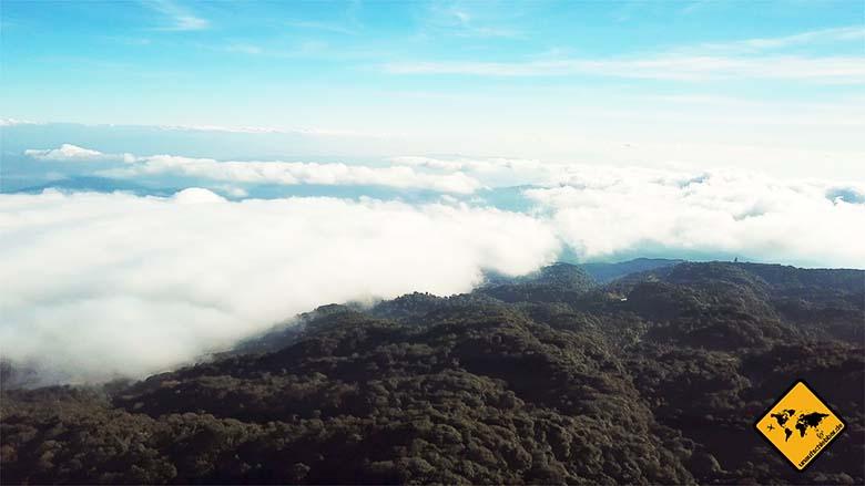 Doi Inthanon Wolkenhöhe