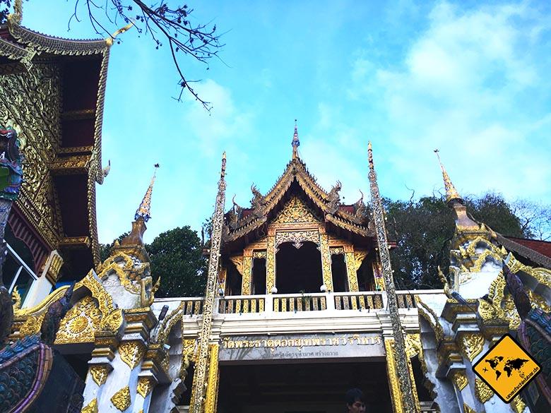 Doi Suthep Tempel Gebäude
