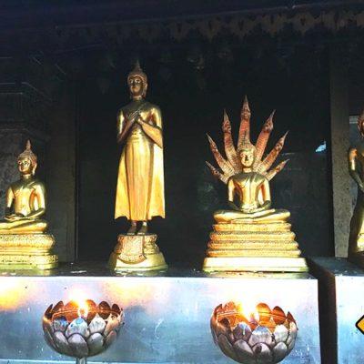 Doi Suthep Tempel Kerzen