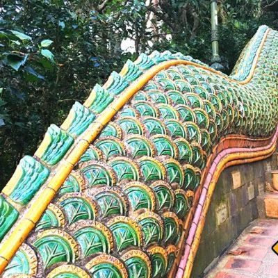Doi Suthep Tempel Naga-Treppe