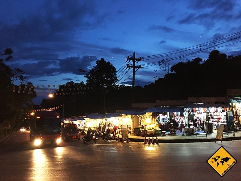 Doi Suthep Tempel Zufahrtsstraße