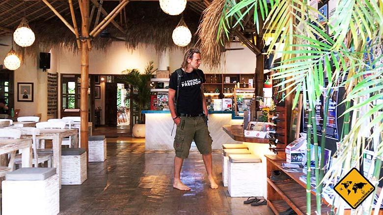Dojo Bali Eingang
